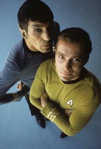 """""""Star Trek""""Leonard Nimoy, William Shatner1966 © 1978 Ken Whitmore - Image 5088_0346"""