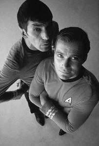 """Star Trek""Leonard Nimoy, William Shatner1966 © 1978 Ken Whitmore - Image 5088_0346b"