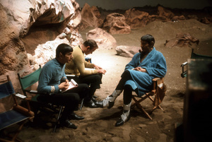 """Star Trek"" Amok TimeLeonard Nimoy, William Shatner, Lawrence Montaigne1967 NBC © 1978 Gene Trindl - Image 5088_0363"