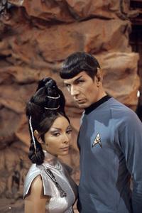 """Star Trek"" (Episode: Amok Time)Arlene Martel, Leonard Nimoy1967© 1978 Gene Trindl - Image 5088_0390"