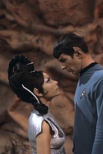 """Star Trek"" (Episode: Amok Time)Arlene Martel, Leonard Nimoy1967© 1978 Gene Trindl - Image 5088_0391"