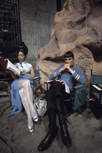 """Star Trek"" (Episode: Amok Time)Arlene Martel, Leonard Nimoy1967© 1978 Gene Trindl - Image 5088_0398"