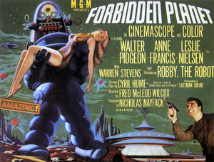 """""""The Forbidden Planet""""Lobby Card1956 MGM - Image 5089_0021"""