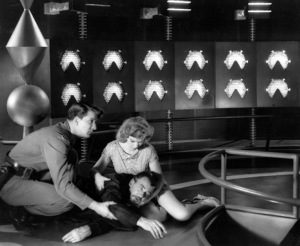 """""""Forbidden Planet"""", Walter Pidgeon, Anne Francis, Leslie Nielsen, MGM, 1956, **I.V - Image 5089_0033"""