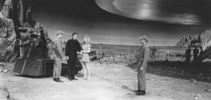 """""""Forbidden Planet"""", Anne Francis, Leslie Nielsen, Walter Pidgeon, Robby the Robot, 1956, MGM **I.V. - Image 5089_0045"""