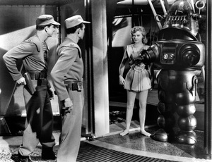"""""""The Forbidden Planet""""Anne Francis1956 MGM**R.C. - Image 5089_0059"""