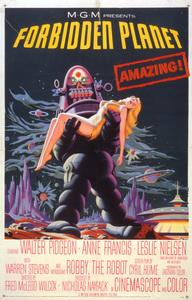 """""""Forbidden Planet""""Poster1956 MGM**I.V. - Image 5089_0060"""
