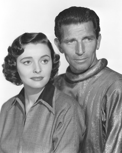 """The Day the Earth Stood Still"" Patricia Neal, Michael Rennie 1951 20th **I.V. - Image 5090_0006"