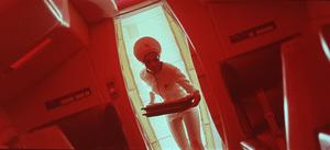 """2001: A Space Odyssey,"" MGM 1968.Photo By John Jay / MPTV - Image 5091_0162"