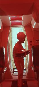 """2001: A Space Odyssey,"" MGM 1968.Photo By John Jay / MPTV - Image 5091_0166"