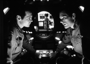"""""""2001: A Space Odyssey,""""Gary Lockwood and Keir Dullea.1968/MGM © 1978 John Jay - Image 5091_0172"""