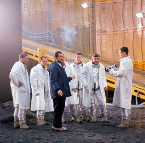 "Stanley Kubrick and the cast of ""2001: A Space Odyssey"" 1968 MGMPhoto by John Jay** I.V. - Image 5091_0201"