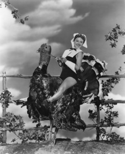 Holiday category (Thanksgiving)Virginia Gibson1953Photo by Bert Six - Image 5093_0021