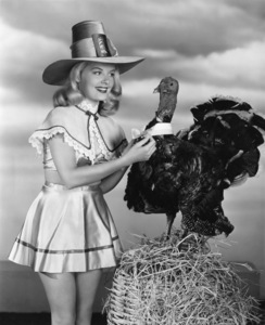 Holiday category (Thanksgiving)Barbara Bates1953Photo by Bert Six - Image 5093_0028