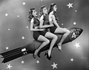 Holiday Category (4th of July)Peggy Kundson, Suzi Crandall, Jane Harkercirca 1950sPhoto by Eugene Robert Richee - Image 5093_0051