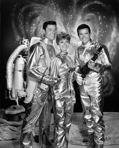 """Lost in Space""Guy Williams, June Lockhart, Mark Goddard1965Photo by Gabi Rona - Image 5095_0016"