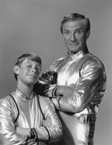 """""""Lost in Space"""" Bill Mumy & Jonathan Harris circa 1965 © 2009 Space Productions ** I.A. - Image 5095_0138"""