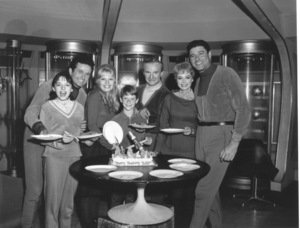 """Lost in Space"" A. Cartwright, M. Goddard, M. Kristen, B. Mumy, J. Harris, J. Lockhart & G. Williams circa 1965 © 2009 Space Productions ** I.A. - Image 5095_0142"