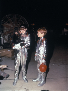 """Lost in Space"" Angela Cartwright, Bill Mumy circa 1965 © 2009 Space Productions ** I.A. - Image 5095_0187"