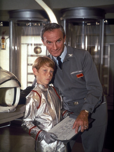 """""""Lost in Space"""" Bill Mumy, Jonathan Harris circa 1965 © 2009 Space Productions ** I.A. - Image 5095_0190"""