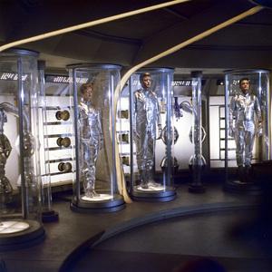"""Lost in Space"" (Season 1)June Lockhart, Guy Williams, Mark Goddard1965Photo by Gabi Rona© 2015 Legend Pictures, LLC - Image 5095_0230"