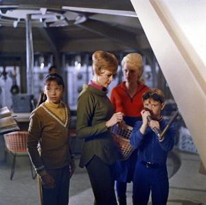 """Lost in Space"" (Season 1)Angela Cartwright, June Lockhart, Marta Kristen, Bill Mumy1965Photo by Gabi Rona© 2015 Legend Pictures, LLC - Image 5095_0238"