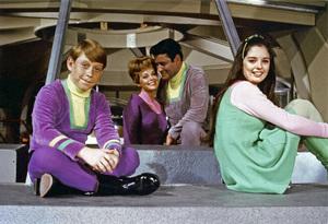 """Lost in Space"" (Season 3)Bill Mumy, June Lockhart, Guy Williams, Angela Cartwrightcirca 1967© 2015 Legend Pictures, LLC - Image 5095_0272"