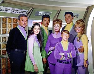 """Lost in Space"" (Season 3)Jonathan Harris, Angela Cartwright, Mark Goddard, June Lockhart, Bill Mumy, Mark Goddard, Marta Kristencirca 1967© 2015 Legend Pictures, LLC - Image 5095_0273"