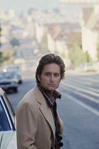 "Michael Douglas in San Francisco during the making of ""The Streets of San Francisco""1973 © 1978 Gunther - Image 5160_0028"