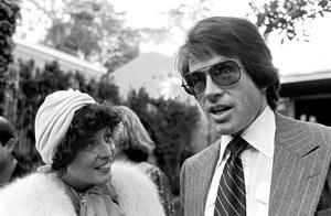 Warren Beatty at Michael Douglas