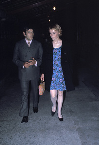 Mia Farrow out on the town with Andre PrevinC. 1971 © 1978 Gunther - Image 5168_0054