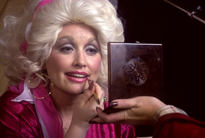 Dolly Parton at a recording session 1978 © 1978 Ed Thrasher - Image 5184_0003
