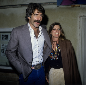 Sam Elliott and Katharine Ross at a Wild Times Party at Palominocirca 1980s© 1980 Gary Lewis - Image 5198_0017