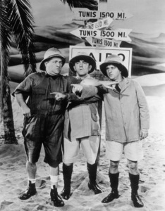 The Three StoogesCurly, Moe and Larryc. 1940 - Image 5268_0007