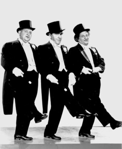"""Three Stooges(Joseph Wardell, Moses Horwitz and Louise Feinberg)in """"Have Rocket Will Travel""""1959 Columbia - Image 5268_0013"""