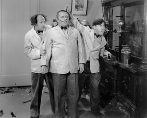 """""""Three Stooges""""Larry, Curly and Moecirca 1950 - Image 5268_0015"""