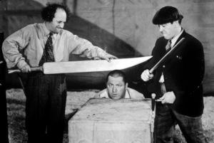"""The Three Stooges""Larry Fine, Curly Howard, Moe Howardcirca 1950 - Image 5268_0025"