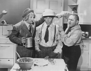 """""""Three Stooges""""Larry, Curly and Moecirca 1940 - Image 5268_0032"""