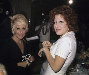 Rona Barrett and Bette Midlercirca 1970s© 1978 Gary Lewis - Image 5314_0013
