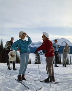 Skiingcirca 1950s© 1978 Paul Hesse - Image 5321_0002