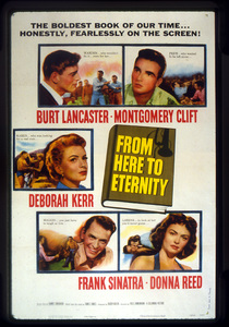"""""""From Here to Eternity""""Poster1953 Columbia**I.V. - Image 5336_0039"""
