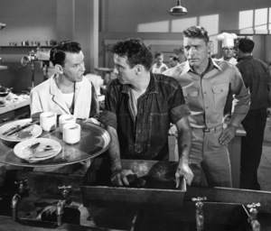 """""""From Here to Eternity""""Burt Lancaster, Frank Sinatra, Montgomery Clift1953 Columbia**I.V. - Image 5336_0048"""