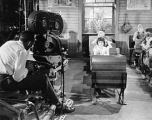 """Mary Badham filming a deleted scene from """"To Kill a Mockingbird""""1962 Universal** B.D.M. - Image 5344_0028"""