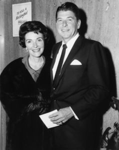 """Nancy and Ronald Reagan attend the preview screening of """"To Kill a Mockingbird""""1962 Universal** B.D.M. - Image 5344_0031"""