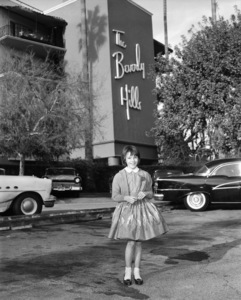 "Mary Badham at The Beverly Hills Hotel during press for the film ""To Kill a Mockingbird""1962*** B.D.M. - Image 5344_0033"
