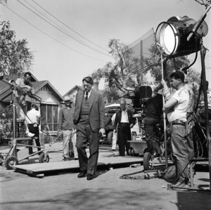 """Gregory Peck during the making of """"To Kill a Mockingbird""""1962** B.D.M. - Image 5344_0036"""