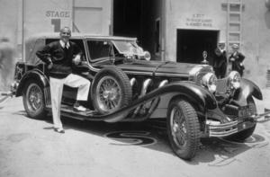 "Al Jolson with his 1930 Mercedes ""S"" Model, C. 1930.*M.W.* - Image 534_122"