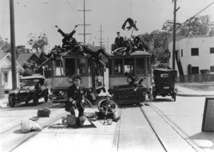 """Keystone Kops""circa 1930 - Image 5348_0002"
