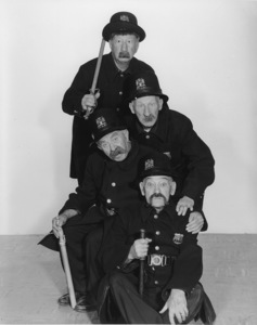 """Keystone Kops""1955Photo By Gabi Rona - Image 5348_0017"