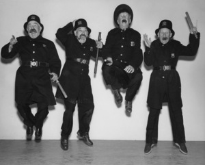 """Keystone Kops""1955Photo By Gabi Rona - Image 5348_0018"